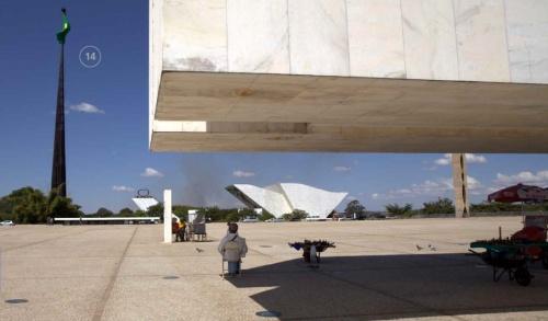 Meeting Mauricio Borges of Apex-Brasil in Brasilia
