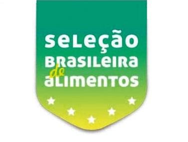 """Logo """"Seleçao Brasileira de Alimentos"""""""