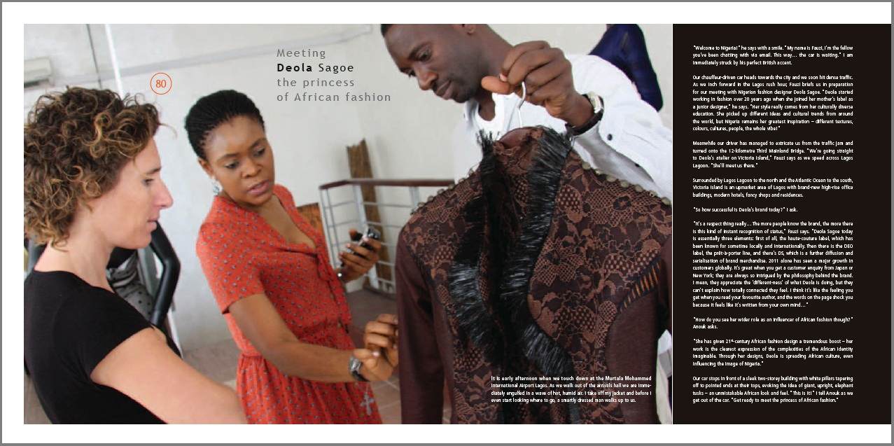 Meeting Deola Sagoe The Princess Of African Fashion Insights From Leaders