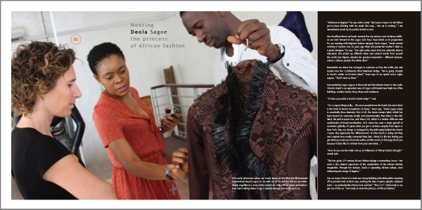 Deola Sagoe - The Princess of African Fashion - CoolBrands - Around the World in 80 Brands