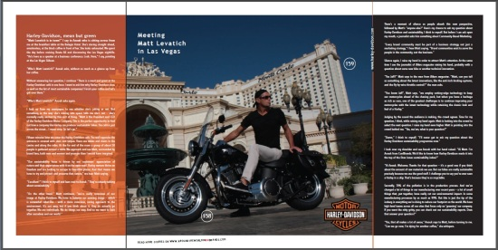 Meeting Matt Levatich from Harley-Davidson - CoolBrands Around the World in 80 Brands