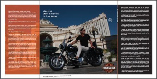 Meeting Matt Levatich from Harley-Davidson - CoolBrands Around the World in 80 Brands