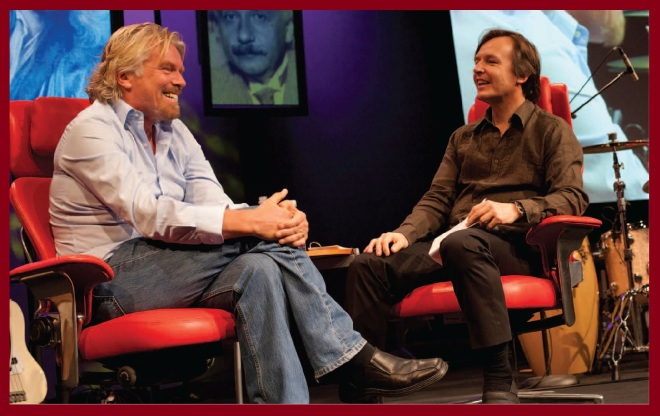 Meeting Richard Branson at TED