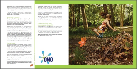 OMO Dirt is Good - Aline Santos Farhat - CoolBrands Around the World in 80 Brands