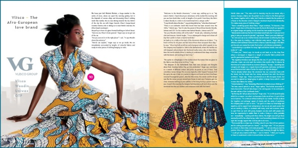 Vlisco - The Afro-European love brand - Roger Gerards and Patrick Liversain - CoolBrands -  Around the World in 80 Brands