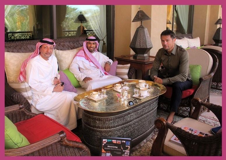 Meeting Sheikh Mohammed bin Faisal Al Qassimi - CoolBrands Around the World in 80 Brands