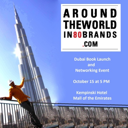 Dubai Book Launch -  'Around the World in 80 Brands'