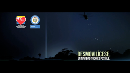 Lowe-SSP3 Campaign to demobilise FARC