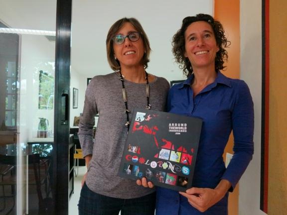 Meeting Ana Couto in Rio de Janeiro