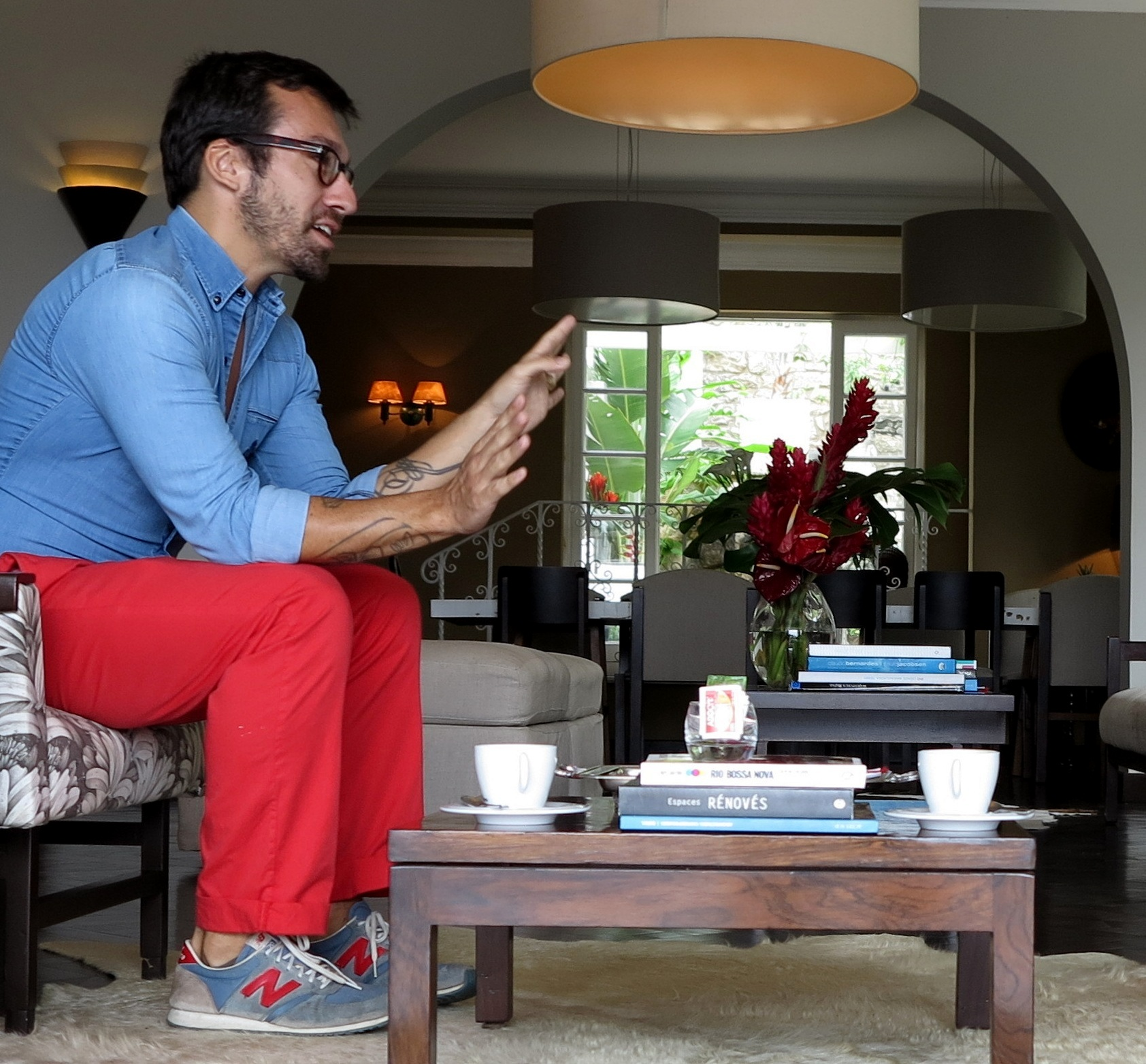 Meeting benjamin cano entrepreneur with an ideological - Benjamin cano arquitecto ...