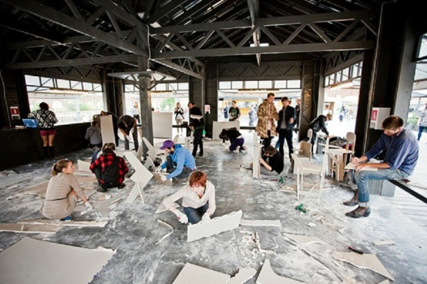 Artists at New Holland, St.-Petersburg