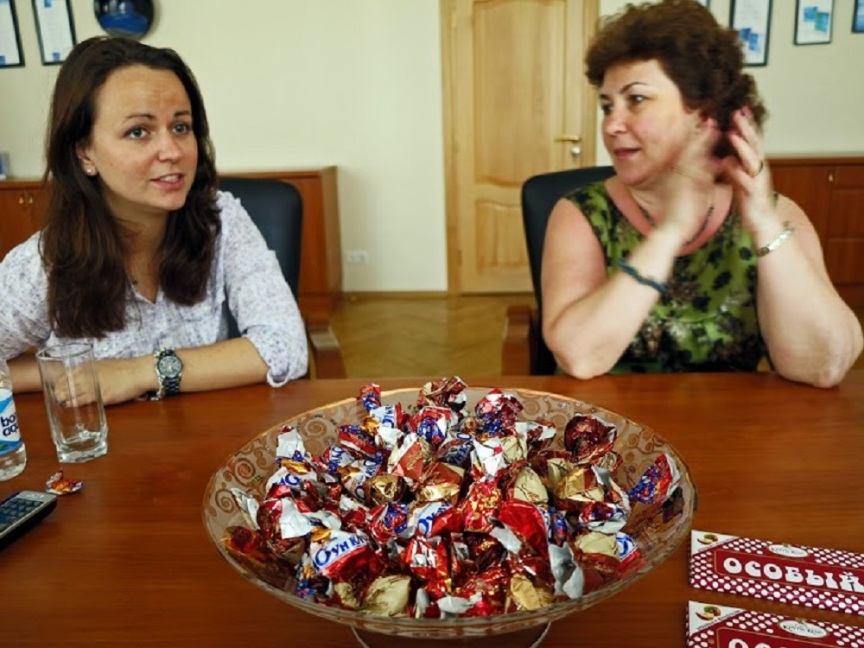Meeting Olga Agafonova from Krypskaya Chocolate Factory