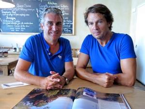 Peter Fisk (Game Changers) and Maarten Schäfer (CBNWS)