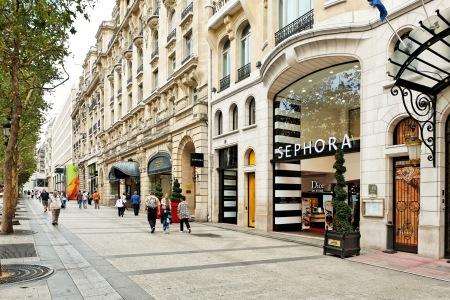 Sephora Flagship Store Champs Elysées Paris