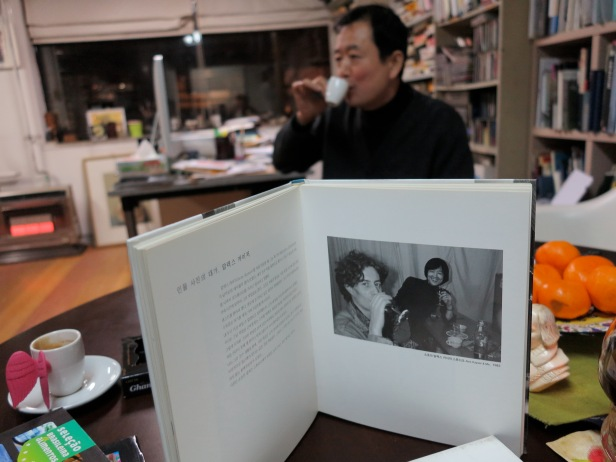 Meeting LIM KYUN YOUNG in Seoul