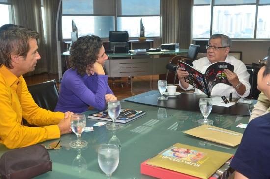 CoolBrands NextWorld Storytelling meeting Felipe Gozon at GMA Network