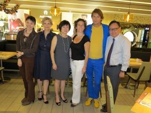 Adine Loh, Stephanie Hancock, Mrs. Sng, Anouk, Maarten, Steven Goh, #CBNWS