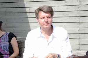 Meeting Christian Cappe - CEO Cristal Festival at #CannesLions