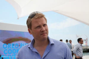 Meeting Rob Connolly, CEO 360i London. at #CannesLions.