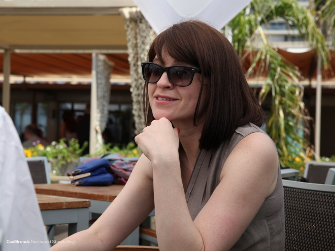 Meeting Stacy Martinet - CMO Mashable at #CannesLions
