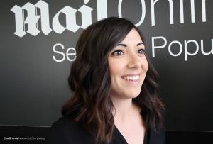 Meeting Stefanie DiGianvincenzo, Associate Creative Director of Wunderman UK at #CannesLions.