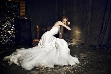 Wedding dress by Ianis Chamalidy