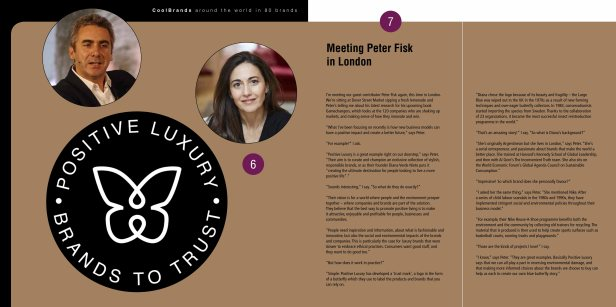 Peter Fisk, Positive Luxury - Around The World in 80 Brands