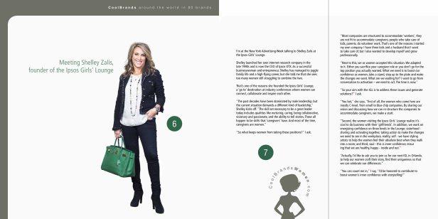 Meeting Shelley Zalis – Around the World in 80 Brands