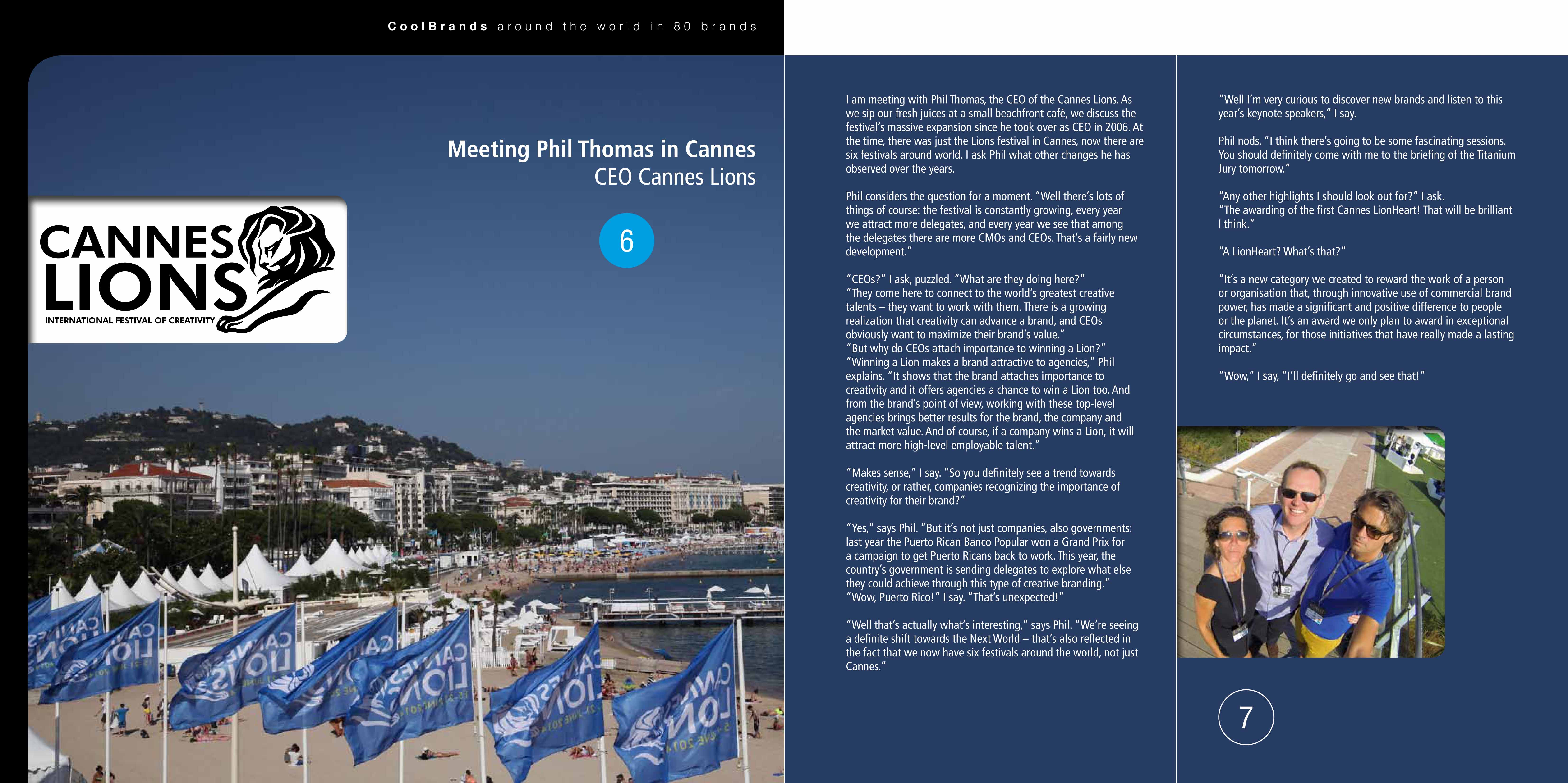 Meeting Phil Thomas in Cannes – CEO Cannes Lions | A