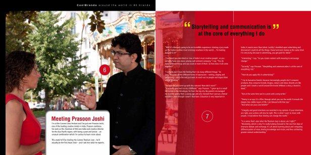 Meeting Prasoon Joshi - Around the World in 80 Brands