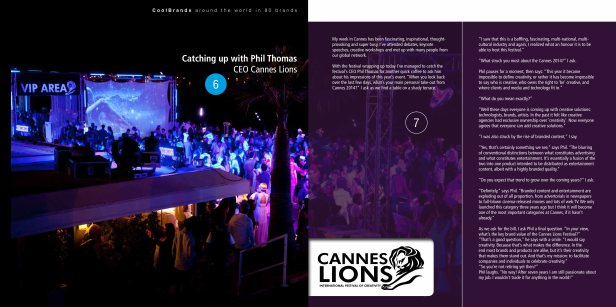 Phil Thomas, CEO of Cannes Lions - Around the World in 80 Brands