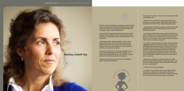 Liesbeth Hop for Around The World in 80 Brands