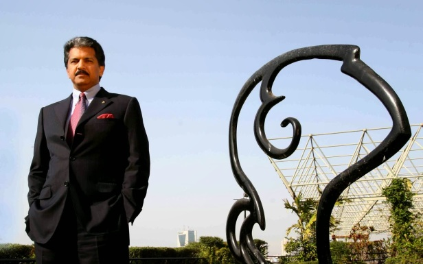 Anand Mahindra  for Around The World in 80 Brands