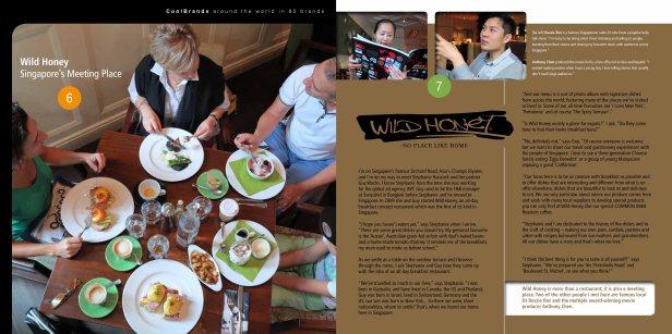Around the world in 80 brands - Wild Honey, Singapore