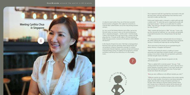 Around The World in 80 Brands - Cynthia Chua, Spa Esprit Group