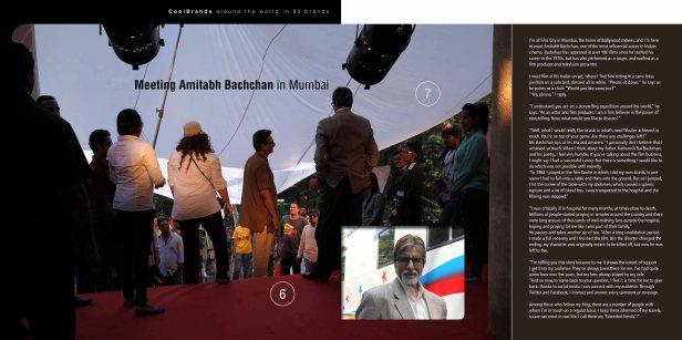 Around the world in 80 brands - Amitabh Bachchan in Mumbai