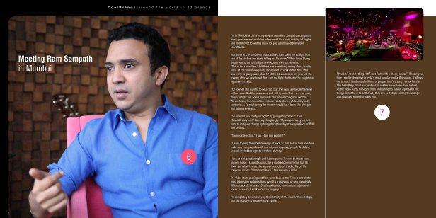 Around the world in 80 brands - Meeting Ram Sampath in Mumbai