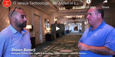 Shawn Banerji in conversation with Jay Millen - Caldwell